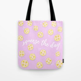 Squeeze The Day | Lemons Tote Bag