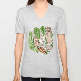 Vegetables Unisex V-Neck