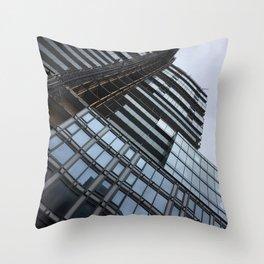 Downtown Montréal Throw Pillow