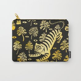 Tiger jungle animal pattern Carry-All Pouch