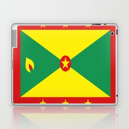 Grenada Flag Throw design Laptop & iPad Skin