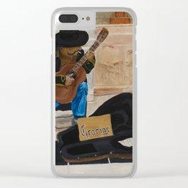 Gracias Clear iPhone Case