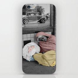 Sleeping Mexican Woman iPhone Skin