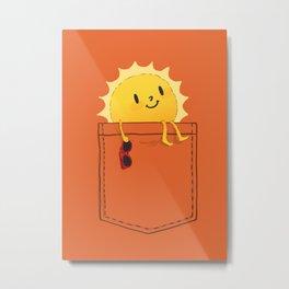 Pocketful of sunshine Metal Print