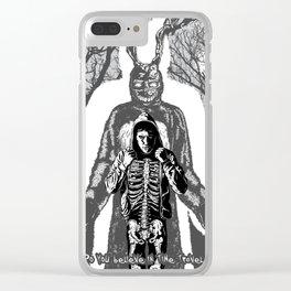Darko Clear iPhone Case