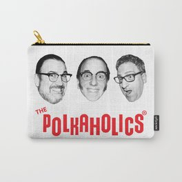 """The Polkaholics!  """"Polka Heads!"""" Carry-All Pouch"""
