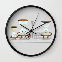 Time of Their Lives Wall Clock