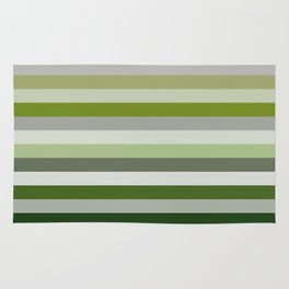 Les lignes de couleurs 02 Rug