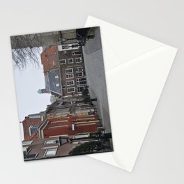 A street in Leiden Stationery Cards
