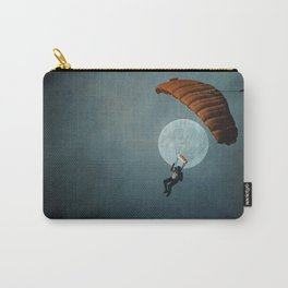 Skydiver's Moon Carry-All Pouch