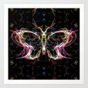 Radiant lighting butterfly by angeldecuir