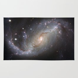Barred Spiral Galaxy NGC 1672 Rug