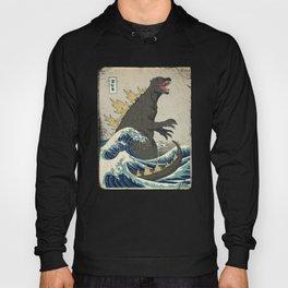 The Great Godzilla off Kanagawa Hoody