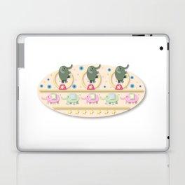 Circus Elephants Laptop & iPad Skin