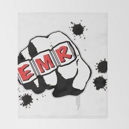 EMR Crew Tee Original Logo Tee Throw Blanket