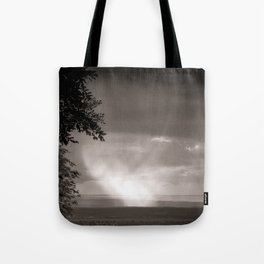 Rainy Plain Tote Bag