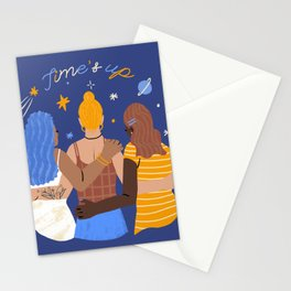 TIME'S UP by Jenny Chang-Rodriguez Stationery Cards
