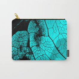 Aqua leaf Carry-All Pouch