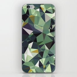 Martinique Low Poly iPhone Skin