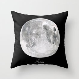 Moon #2 Throw Pillow