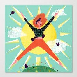 Exuberant! Canvas Print