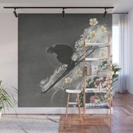 Spring Skiing Wall Mural