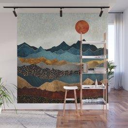 Amber Dusk Wall Mural