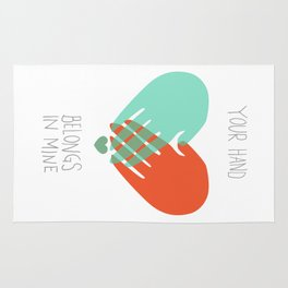 I wanna hold your hand Rug