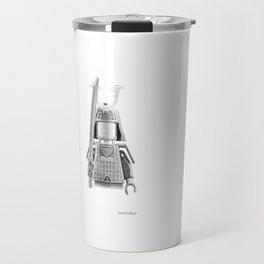 Japanese Warrior Travel Mug