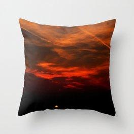The Hidden Sun Throw Pillow