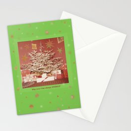 Sparkling Tree on Cards and More! Stationery Cards