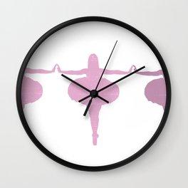 girls please Wall Clock