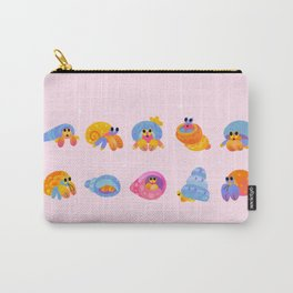Hermit Crab - pink Carry-All Pouch