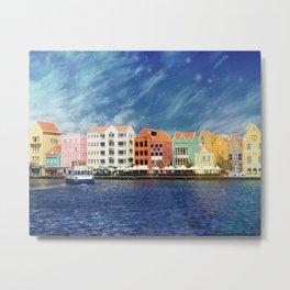 Willemstad, Curaçao Metal Print