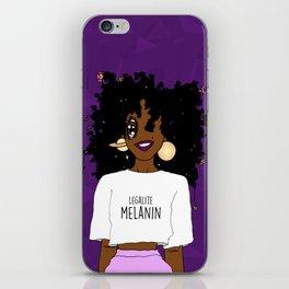 LEGALIZE MELANIN (D) iPhone Skin