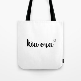 Kia Ora NZ Tote Bag