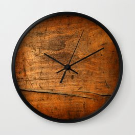 Wood Texture 340 Wall Clock