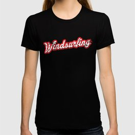 windsurfing - vintage & distressed T-shirt