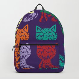 Cats on film Backpack