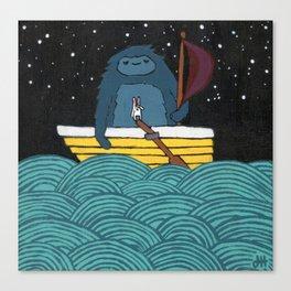 Sailin' Canvas Print