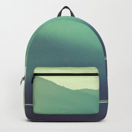 Summer at the Lake Turquoise Backpack