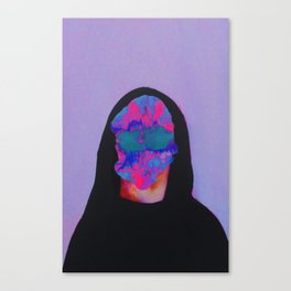 The child who feels very much Canvas Print
