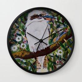 MACLEAY ISLAND KOOKABURRA 2 Wall Clock