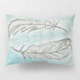 Feathers and memories Pillow Sham