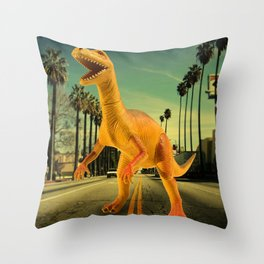 Terror on the Sunset Strip Throw Pillow