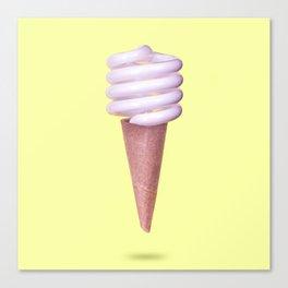 CFL Soft Serve Canvas Print