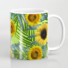 Sunflower Party #3 Coffee Mug