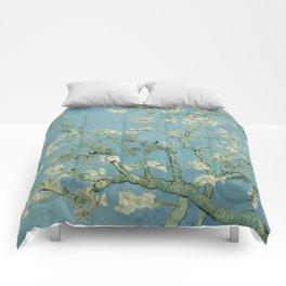 Vincent van Gogh - Almond Blossoms 1890 Comforters