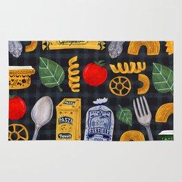 Vintage macaroni pattern Rug