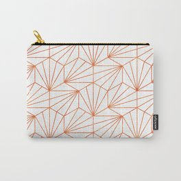 Rose Gold & White #society6 #decor #buyart Carry-All Pouch